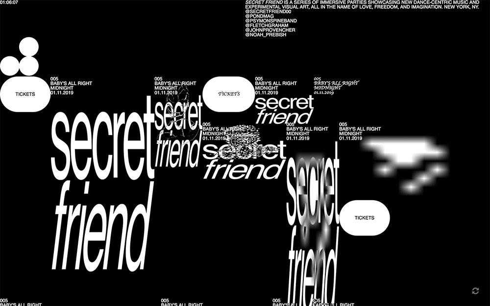 Brutalism Trend Website Design