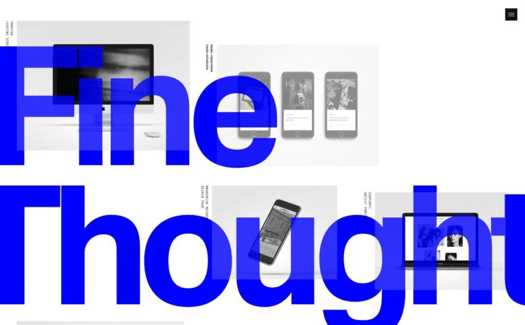 Large Font on Website