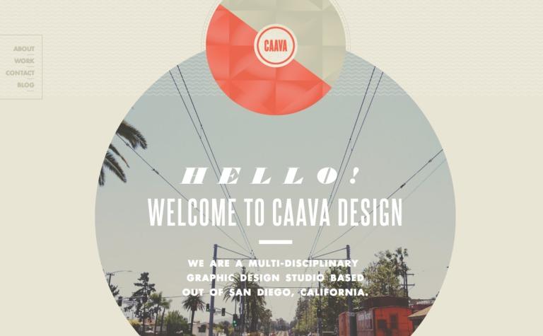 Caava Design Website
