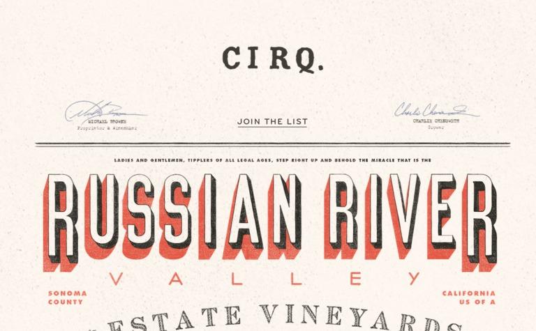 Cirq Design on Website