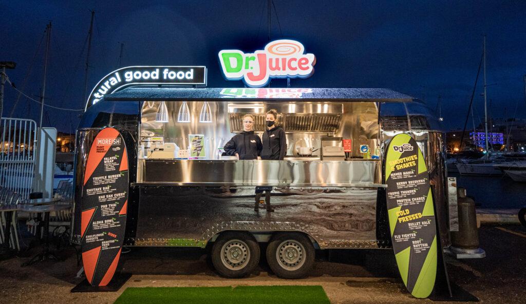 Dr Juice food truck